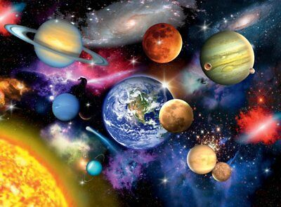 NEW! Ravensburger Solar System 300 piece extra large space jigsaw puzzle 13226