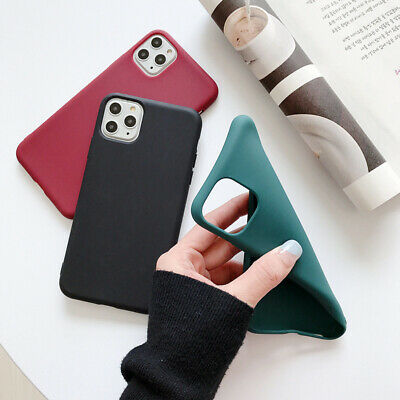 Silicone Case For Apple iPhone 11 Pro Max X XR XS MAX 8 7 Liquid Rubber Cover