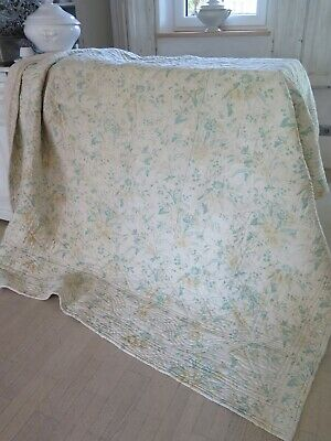Old french XL Boutis - Bed Spread Plaid - Alter Bettüberwurf SHABBY