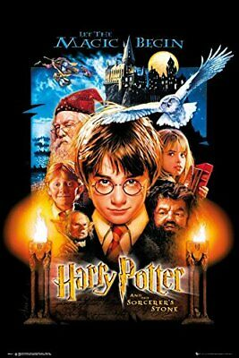 New - Harry Potter and the Sorcerer's Stone Movie Art Poster Print 24 x 36