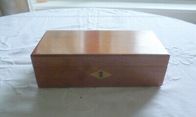 LovelyVintage Mahogany? Pencil/Pens Box