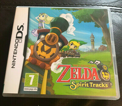 The Legend of Zelda: Spirit Tracks Nintendo DS Boxed With Manual Good Condition