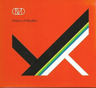Orchestral Manoeuvres In The Dark OMD - History Of Modern cd+dvd deluxe edition