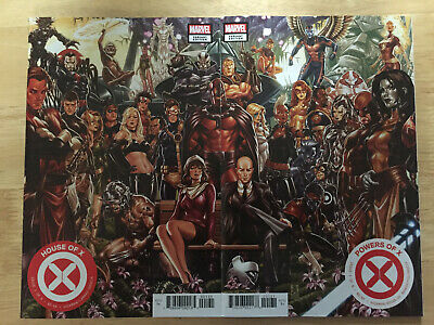 house of X 1 powers of X 1 brooks connecting cover set NM Best shape listed PICS