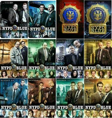 NYPD Blue: The Complete TV Series Seasons 1-12 DVD Set Free Shipping New Sealed