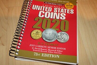 United States Coins 2020 R.S. Yeoman Softcover Book 73rd Edition US
