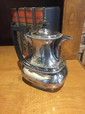 Antique Walker and Hall Sheffield Silver Tea Pot Silver Plate # 17054A