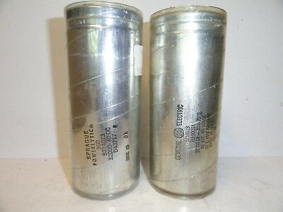 General Electric / Sprague Capacitors 32,000 uF - 40VDC    (LOT OF 2)