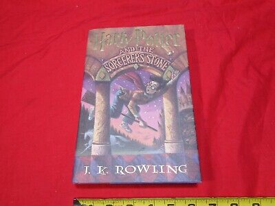 HARRY POTTER AND THE SORCERER'S STONE J.K. ROWLING  First Edition Near Mint Cond