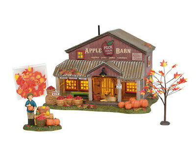 Department 56 Halloween Village 2019 APPLE BARN LIMITED EDITION BOX SET 6003156