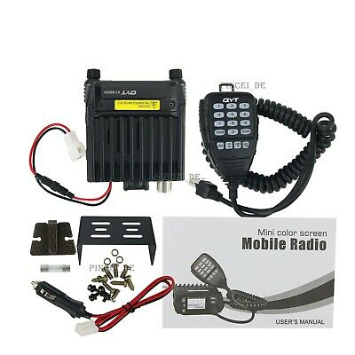 QYT KT-8900D VHF UHF Radio Mobile Transceiver 136-174/400-480MHz 25W 200CH