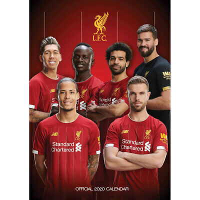 Liverpool FC Official 2020 Calendar, Stationery, Brand New