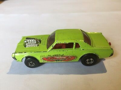 Matchbox : Mercury Cougar , Superfast Serie Nr.62,1970 , Lesney , England