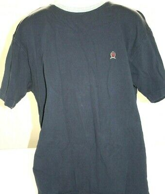 Tommy Hilfiger Mens S/S XL Crew Neck Tee Classic Fit Solid Shirt