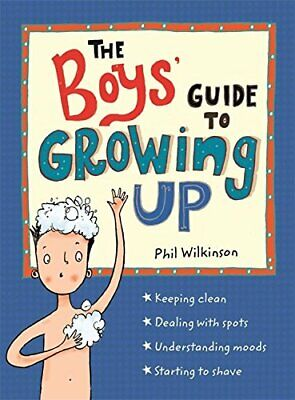 Boys' Guide to Growing Up by Wilkinson  New 9781526360175 Fast Free Shipping--