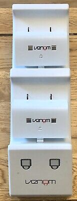 Venom Microsoft Xbox One White Twin Docking Station & 2 Batteries (Free Post)