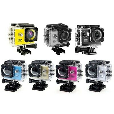 4K 1080P HD 2'' Dual Screen Sport Action Camera DV Waterproof for Go EP AnGyJ