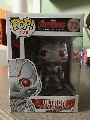 Funko Pop Marvel Age Of Ultron Avengers Ultron 72 Vinyl Figure Vaulted