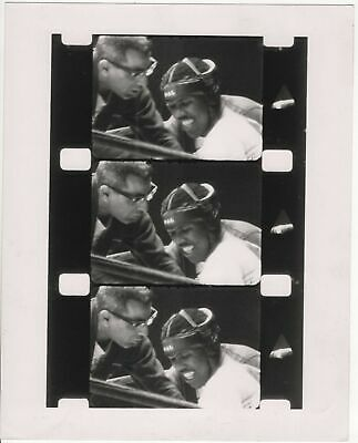 African American Black Man Boxer Fighter Film Strip Photo Boxing Coach Sports
