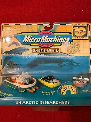 1996 Galoob Micro Machines Exploration Collection #4 Arctic Researchers