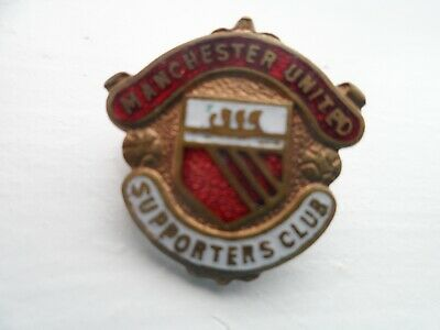 Manchester United Football Supporters Club Enamel Badge (3)