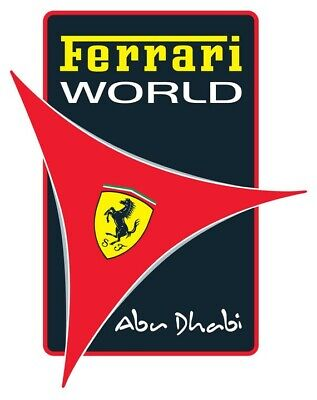 Ferrari World - Entertainer App Abu Dhabi / Dubai 2019 E Voucher