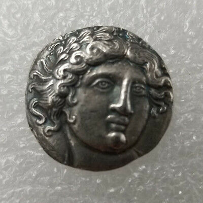Rare Silver Plated Greek Ancient Coin The Great Greek Coin NO.32