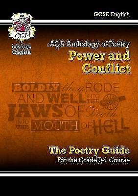 (Good)-New GCSE English Literature AQA Poetry Guide: Power & Conflict Anthology
