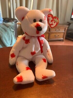 TY Beanie Baby 8.5 inch - MWMTs Canada Exclusive CHINOOK the Bear