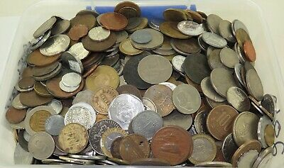 MASSIVE JOB LOT GENUINELY UNSORTED WORLD COINS, APPROX 6.8 KILO's. #16