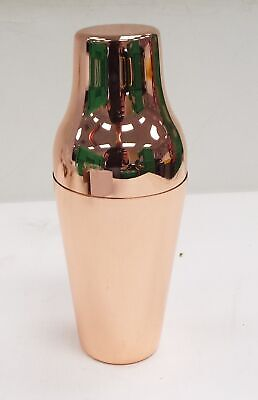 New/Unused 3328 - FRENCH SHAKER COPPER PLATED Cocktail Shaker - Y99