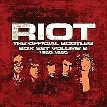 The Official Bootleg Box Set Vol.2 1980-1990 von Riot | CD | Zustand neu
