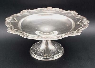 Authentic Gorham Chantilly-Duchess Sterling Silver Desert Plateau Compote NR