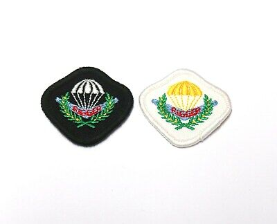 c.1990's Australian Army Parachute Rigger wing or Bevet set of 2