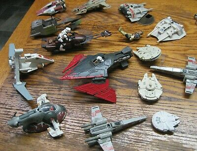Large Mixed Lot of KENNER STAR WARS SHIPS - Vehicles