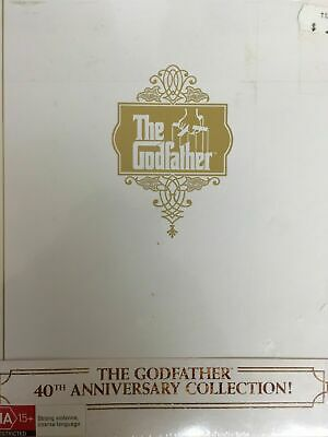 The Godfather Trilogy (DVD, 2012, 5-Disc Set) 40TH Anniversary box set