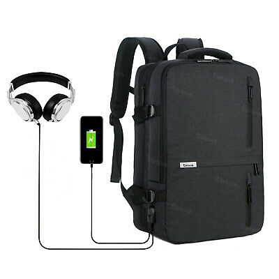 Travel Laptop Backpack Business Backpack Work Bag with USB Charging Port