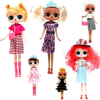"10"" Dolls Surprise Complete Set Girls Kids Fun XMAS Birthday Gift Lol Toys 