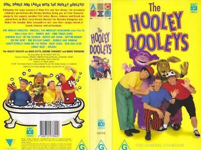 The Hooley Dooleys  Vhs Pal Video~ A Rare Find