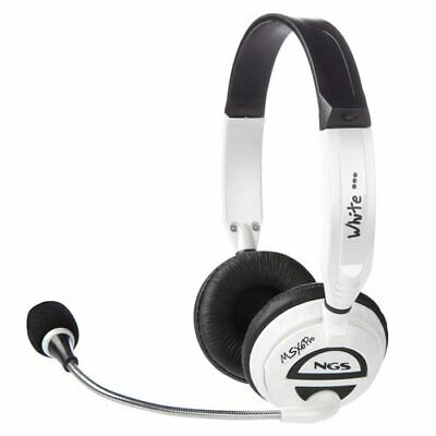Auriculares con Micrófono NGS MSX6PRO Jack 3,5mm Negro