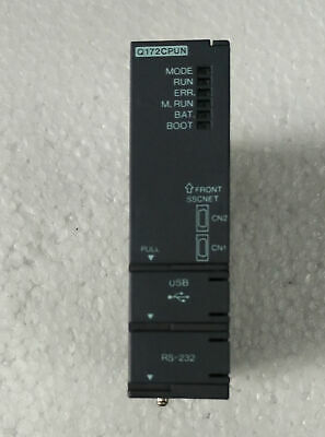 ONE USED Mitsubishi Q172CPUN Motion Controller Tested in Good