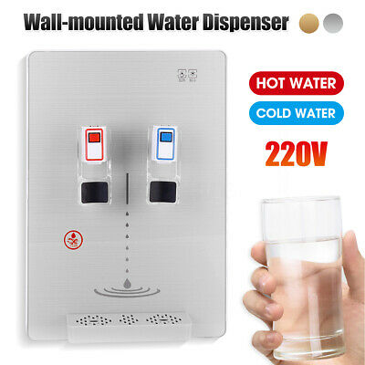 Hot & Cold Purifier Water Dispenser Wall-mounted Hanging Filters Space Saver 220