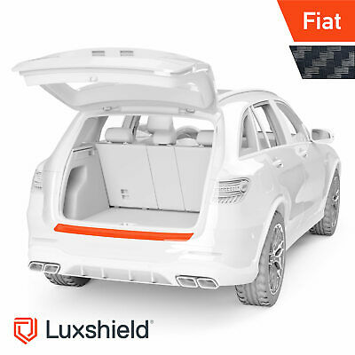 Ladekantenschutz Folie Fiat 500  Carbon Optik