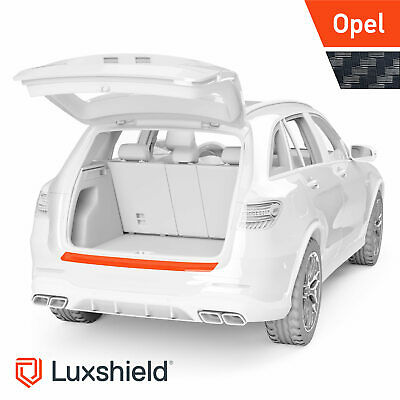 Ladekantenschutz Folie Opel Crossland X Carbon Optik