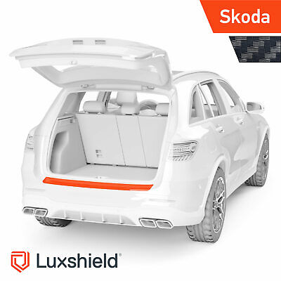 Ladekantenschutz Folie Skoda Citigo 1 (I) Carbon Optik