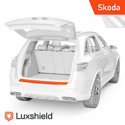 Ladekantenschutz Folie Skoda Rapid Spaceback NH Transparent glänzend