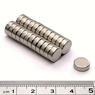 Super Strong Neodymium Magnets (9mm Dia x 3mm) *Pull force 1.5Kg * Powerful Disc