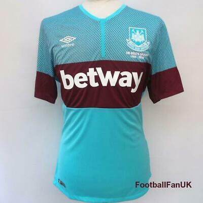 WEST HAM UTD Umbro 'Boleyn' Away Football Shirt 2015-2016 NEW Mens Jersey United