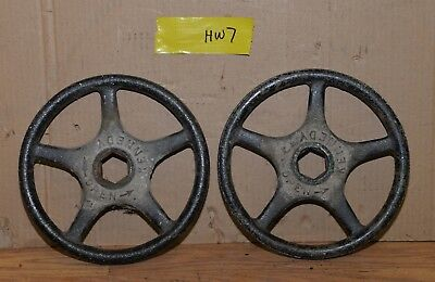 "2 Kennedy valve hand wheel industrial 10"" diameter collectible steam punk HW7"