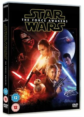 Star Wars The Force Awakens DVD 2015